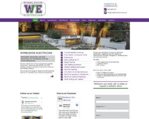 Wimbledon web design - wimbledon electrician
